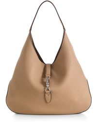 Gucci Jackie Soft Leather Hobo - Lyst