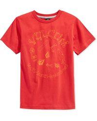 Volcom Boys' Stick Stones Tee red - Lyst