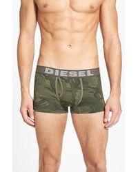 Diesel 'Umbx-Divine' Trunks green - Lyst