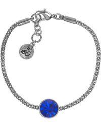 Sam Edelman Gold-tone and Topaz Stone Solitaire Bracelet - Lyst
