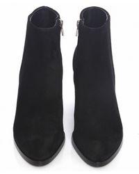 Alexander Wang Gabi Suede Boots - Lyst