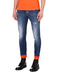 DSquared2 Kenny Slim-fit Tapered Jeans - Lyst