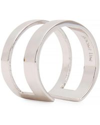 Joomi Lim - Rhodium-Dipped Midi Ring - Lyst