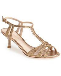 Pelle Moda 'Anisa' T-Strap Sandal - Lyst