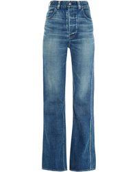 Visvim Social Sculpture Flared Jeans - Lyst