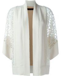 Elie Saab | Lace Sleeve Kimono | Lyst