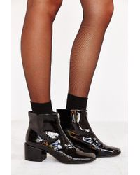 Cheap Monday Square Front Zip Boot - Lyst