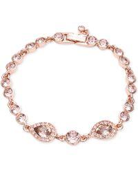 Givenchy Crystal Flex Bracelet - Lyst