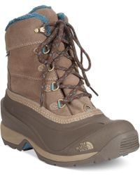 The North Face Womens Chilkat Iii Boots - Lyst
