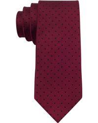 Calvin Klein Red Hot Skinny Tie - Lyst