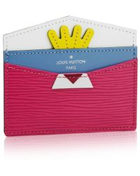 Louis Vuitton Tribal Mask Card Holder - Lyst