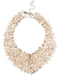 Coast Bella Beaded Collar Necklace beige - Lyst