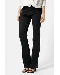 Topshop Moto 'Tally' Flare Jeans - Lyst