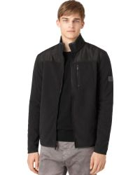 Calvin Klein Jeans Nylon-trim Fleece Jacket - Lyst