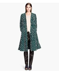 H&M Bellshaped Coat - Lyst