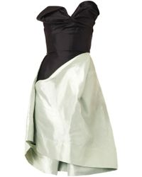 Vivienne Westwood Gold Label Trinket Corset Dress silver - Lyst