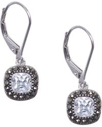 Judith Jack - Rings And Things Swarovski Crystal And Sterling Silver Drop Earrings - Lyst