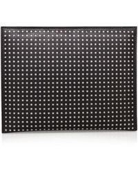 Karen Millen | Perforated Clutch | Lyst
