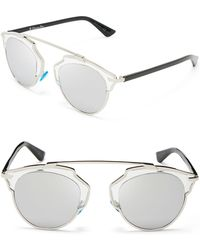 Dior So Real Mirrored Sunglasses - Lyst