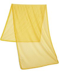 Missoni Pin Dot Stole yellow - Lyst