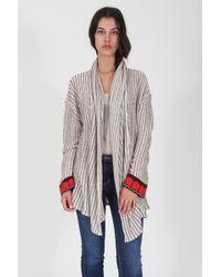 Goddis | Nolita Bell Sleeve Cardigan In Mirage | Lyst