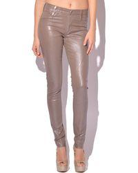 James Jeans Twiggy Metallic Coated Skinny Jeans - Lyst