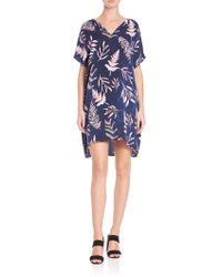 Diane von Furstenberg | Kora Printed Silk Dress | Lyst