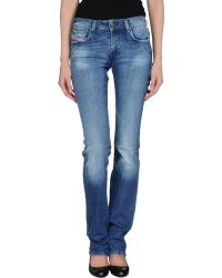 Diesel Denim Trousers - Lyst