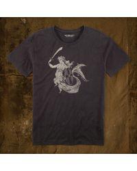 Denim & Supply Ralph Lauren Gray Mermaid Tee - Lyst