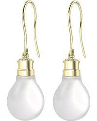 Theo Fennell - 18ct Gold Halogen Light Bulb Earrings - Lyst