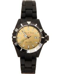 Blue & Cream - Black Time 2 Shine Timepiece - Lyst