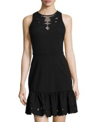 Cynthia Steffe Holland Sleeveless Cutout Dress - Lyst