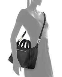 Romy Gold - Vertical-zip Leather Satchel Bag - Lyst