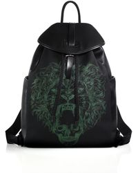 Alexander McQueen | Lion Print Backpack | Lyst