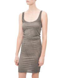 Humanoid Jersey Tank Dress gray - Lyst