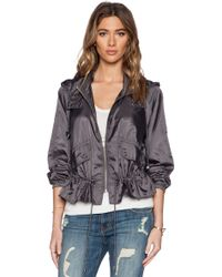 Free People Ripstop Parachute Jacket gray - Lyst