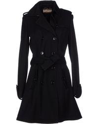 John Galliano Coat black - Lyst