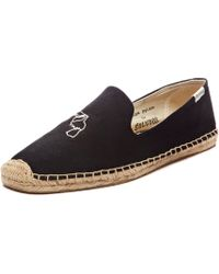 Soludos Jason Polan Smoking Slipper - Lyst