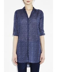 MiH Jeans Oversize Shirt - Lyst