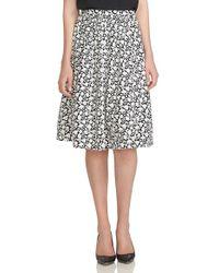Cece by Cynthia Steffe - 'heirloom Ditsy' Print Sateen A-line Skirt - Lyst