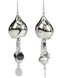 Breil - Bloom Sphere Chains Pailettes Earrings - Lyst