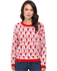 Mink Pink By The Fire Jumper - Lyst