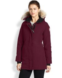 4c51786c3655 hot sale Canada Goose Women s Fur-Trimmed Shelburne Parka-DARK GREY ...