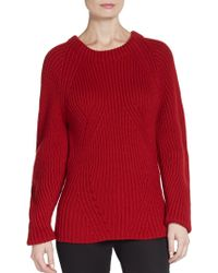 Burberry Prorsum Knit Cashmere Sweater - Lyst