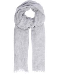 Vince - Heather Fringed Woven Scarf - Lyst
