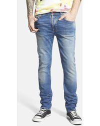 Nudie Jeans 'Thin Finn' Skinny Fit Jeans - Lyst