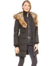 Mackage Trish Coat  Ink - Lyst