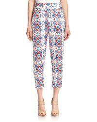Ella Moss Tierra Printed Pants multicolor - Lyst