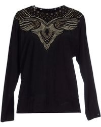 Isabel Marant Blouse black - Lyst