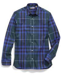 Burberry Brit | 'nelson' Trim Fit Check Sport Shirt | Lyst
